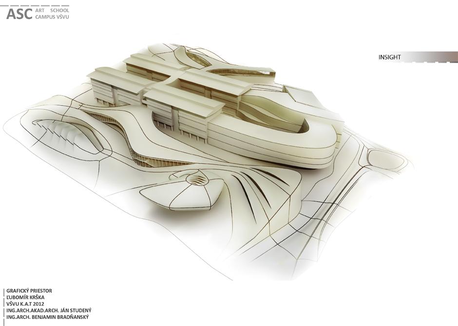 ASC_ architektural koncept for Univesity of Arts and Design_Ba_SK